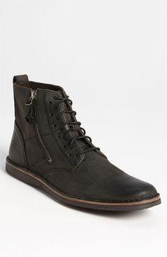 'Barrett' Plain Toe Boot by John Varvatos