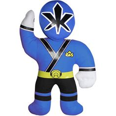 "Power Rangers 18"" Blue Plush Toy"