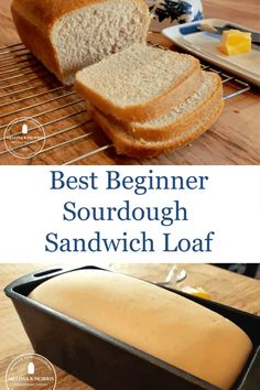 This sourdough sandwich bread has a soft crust, amazing flavor, and the tender crumb holds up to any Sourdough Starter Discard Recipe, Sourdough Recipes, Sandwich Bread Recipes, Sandwich Loaf, Sourdough Sandwich Bread Recipe, Recipe Breadmaker, Easy Sourdough Bread Recipe, Pain Au Levain, Saveur