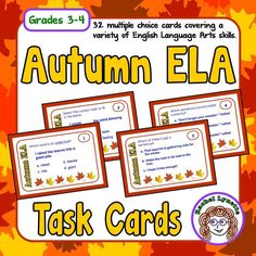 These Autumn ELA tas
