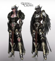 ArtStation - Queen of Crows, Johnson Ting