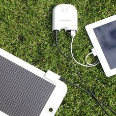 Solar Energy Charger Starter Kit by Changers | MONOQI  #Reusable Energy, #Solar