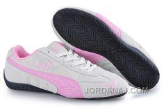 http://www.jordanaj.com/puma-speed-cat-sd-trainers-grey-pink-for-sale.html PUMA SPEED CAT SD TRAINERS GREY/PINK FOR SALE Only 73.79€ , Free Shipping!