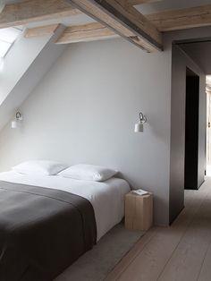 Danish Design Brand Vipp Reveals Plans for a Hotel Concept with a New 400 sqm Loft in Copenhagen - NordicDesign Dormer Bedroom, Bedroom Loft, Home Decor Bedroom, Bedroom Furniture, Plywood Furniture, Furniture Design, Rattan Furniture, Modern Furniture, Loft Hotel