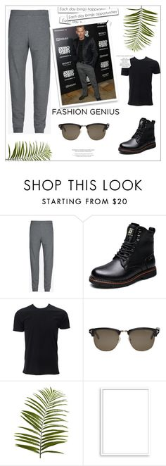 """""""Max Martini"""" by smile2528 ❤ liked on Polyvore featuring Maison Margiela, Simplex Apparel, Tom Ford, Pier 1 Imports, Bomedo, StyleNanda, men's fashion and menswear"""