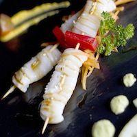 Calamar Kushiyaki