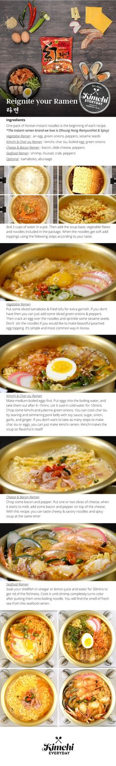 Want to feel ramen in a new? Here's four ways to turn a pack into a punch!