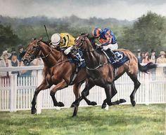 Caroline Cook Artist - Big Orange defeats Order of St George