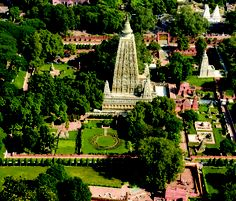 Mahabodhi Tree, Bodh Gaya, India is one of the 10 most sacred places in the world:    In the 6th century B.C. Prince Siddhartha Gautama attained Supreme Enlightenment at this Holy place and became the Buddha.