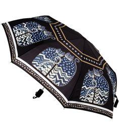 Laurel Burch Compact Umbrella-Polka Dot Cats, , hi-res