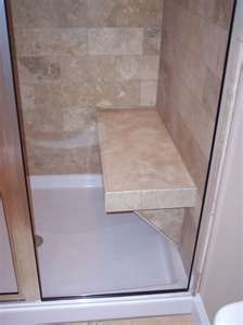 shower bench with sides