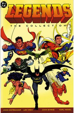 Legends: The Collection TPB (1993) - cover by John Byrne