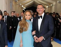 """Jennifer Lopez and Alex Rodriguez attend the opening of the """"Rei Kawakubo/Comme des Garcons: Art of ... - Getty Images"""
