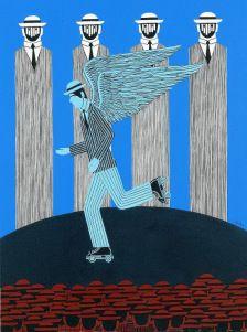 Γαϊτης Γιάννης – Giannis Gaitis [1923-1984]   paletaart - Χρώμα & Φώς Painter Artist, Artist Painting, Artist Art, Art And Illustration, Street Art, Street View, Modern Art, Contemporary Art, Greece Painting
