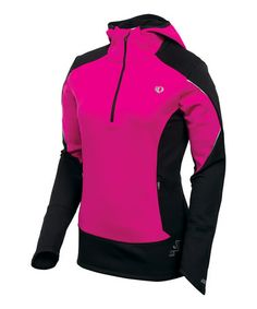 Pink Punch & Black Infinity Hooded Pullover #zulily #ad *great collection of running gear