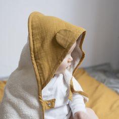 Towel - Baby - Ochre – Fabelab