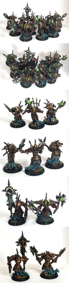 Bane Thrall Unit with Officer and Standard Bearer
