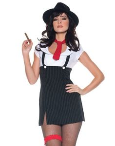 Sexy Mobster Halloween Costumes