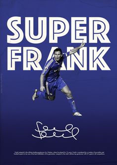 Premier League Legends on Behance - Frank Lampard - Chelsea