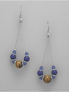 earrings on Pinterest | 393 Images on wire earrings, bead earrings an…