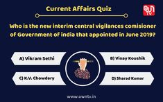 Current Affairs Quiz Choose the right option and comment down. Paper Video, Current Affairs Quiz, Core Beliefs, Civil Service, Question Of The Day, Study Materials