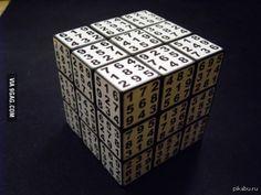 Считаете кубик Рубика сложным?! Как насчет Кубик Рубика-Судоку? 9gag, судоку, кубик рубика