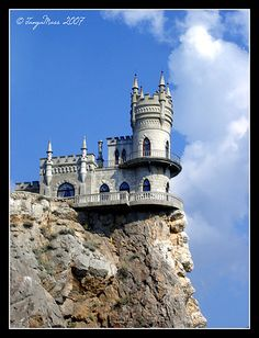 swallows nest castle - Google Search