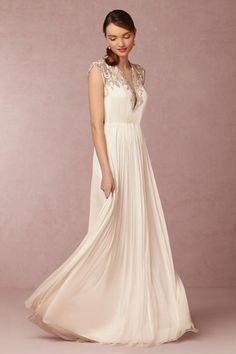 BHLDN Winnie Gown in  Sale Wedding Dresses at BHLDN - love this!!!