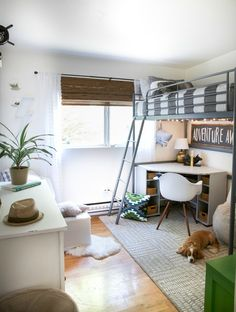 Kids Space boys bunk bed room on a budget
