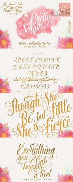 Love this gorgeous script font