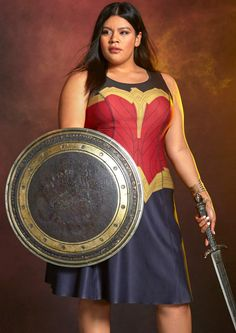 47f80dc535 Torrid Launches a Limited-Edition Wonder Woman Collection Wonder Woman  Outfit