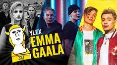 Emma Gaalan tähtiin kuuluivat Haloo Helsinki!, Profeetat, ja Mikael Gabriel x Isac Elliot.