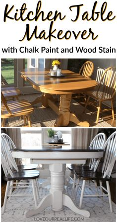 27 best refinishing kitchen tables images painted furniture rh pinterest com