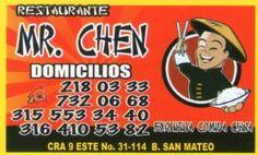 Mr Chen Restaurante de Comida china en Soacha San Mateo, Exquisita Comida China.