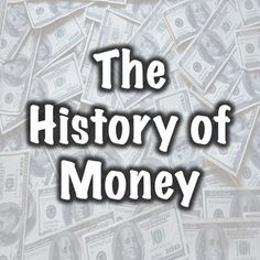 The History of Money Money Worksheets, Budgeting Worksheets, Economics Lessons, Money Today, Managing Your Money, Budgeting Money, Stock Market, Social Studies, Middle School