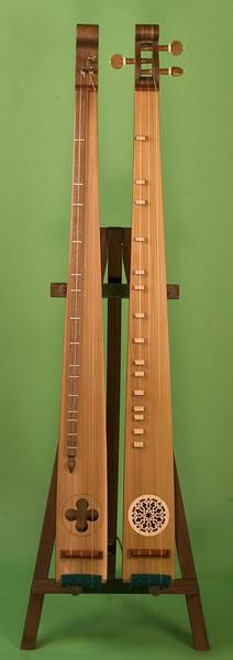 """The Praetorius Scheitholt is a medieval musical instrument of the mountain zither family. An early illustration of this instrument was in Michael Praetorius' """""""