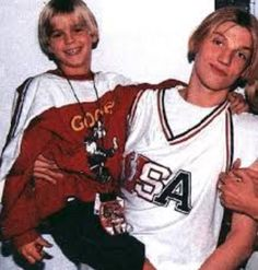 Nick and AC Carter Page, Aaron Carter, Carter Family, Young Actors, Backstreet Boys, Cute Guys, Celebrity Crush, Boy Bands, Graphic Sweatshirt