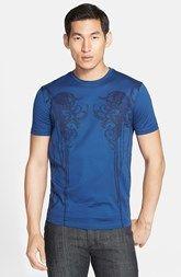 Versace Collection Print Crewneck T-Shirt