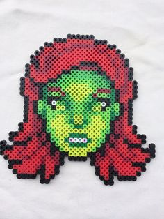 Poison Ivy Perler Bead Sprite for sale by PrettyPixelations!