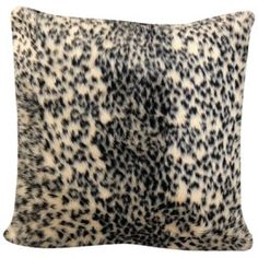 Animal Print Safari Decorative Polyester Throw Pillow