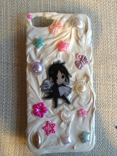 Black butler iPhone 5 case  on Etsy, $33.00