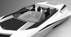Reinvention V12 powerboat, unique yacht, PROVOCOyachts design studio