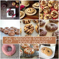 Making your own healthier donuts at home couldn't be easier! Check out all of these great recipes for a guilt-free low carb indulgence and win a new donut pan. Do you dream in donuts? Are you…