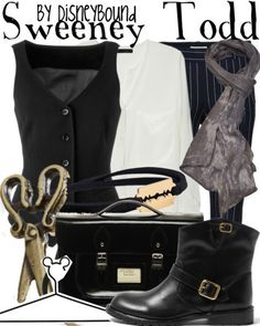 Sweeney Todd outfit by Disney Bound