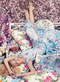 'Spring in the Vogue' by Steven Meisel