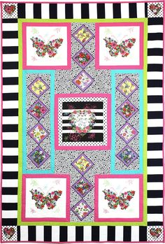Michael Miller Fabrics Spring is in the Air Quilt - FREE QUILT PATTERNS - GET INSPIRED