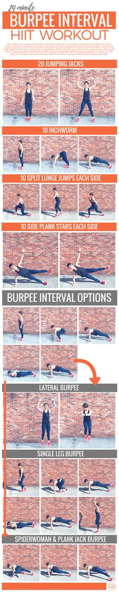Burpee Interval HIIT Workout | Burpees for Breakfast