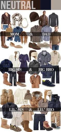 Have you already thought about what you'll wear for your annual family photo sessions? Well I'm here to help with a handy fall family photos clothing guide to get you … Fall Family Picture Outfits, Family Photo Colors, Family Portrait Outfits, Family Photos What To Wear, Winter Family Photos, Family Christmas Pictures, Family Posing, Colors For Family Pictures, Fall Pictures