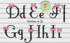 alfabeto laço D-I