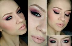 #makeup #eyliner #cat eye #natural